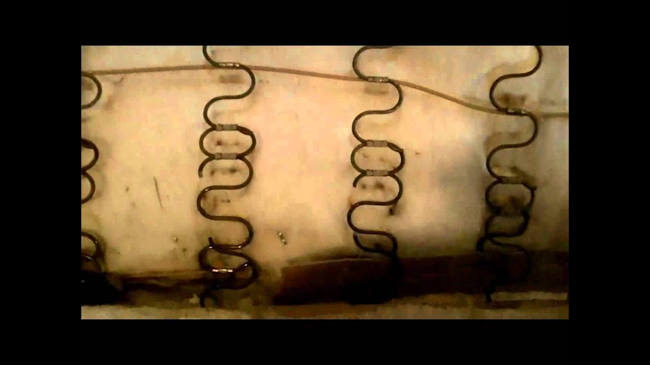 how to repair leather sofa springs 3 seater black friday a youtube