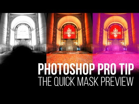 The Quick Mask Preview - Photoshop Pro Tip