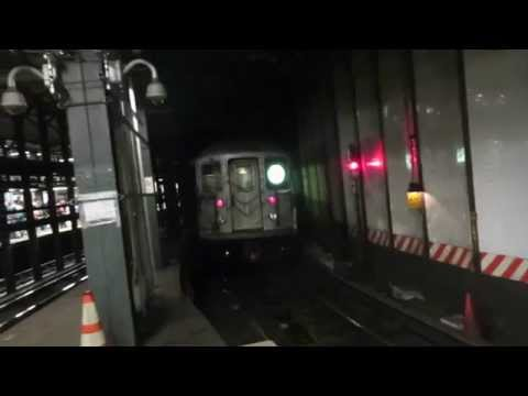 "NYC Subway Special: Bronx bound R62A 6X ""Hybrid"" Train leaving 14 St-Union Sq"
