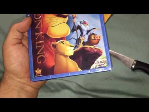 Counterfeit Lion King Blu Ray Disc Received From eBay's lou_city_media