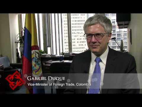 Colombia's Vice Minister of Foreign Trade Gabriel Duque on facilitating trade & export development