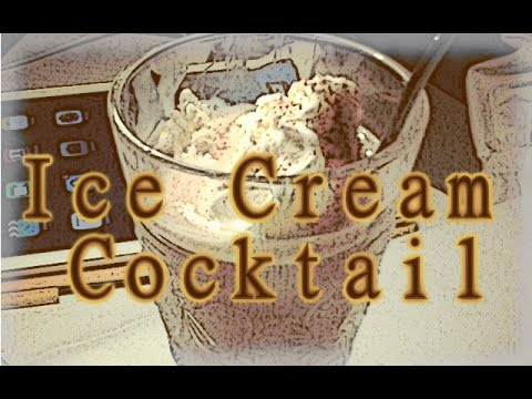 Ice Cream Cocktail