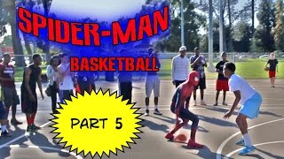 Repeat youtube video Spiderman Basketball Part 5