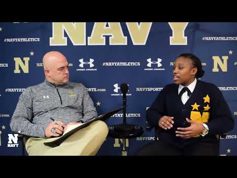 Navy Sports Magazine: Ashanti Curry