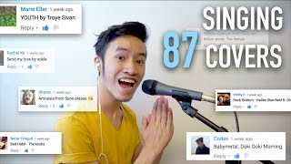 Singing 87 SONG REQUESTS! | INDY DANG