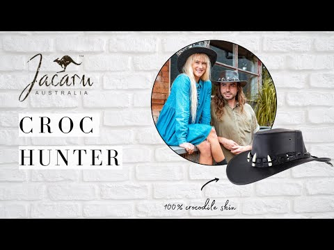 Jacaru Hats Croc Hunter Hat Review - Hats By The 100