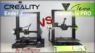 Tevo TARANTULA PRO vs Creality ENDER3 - All The Differences