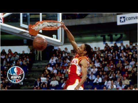 5-foot-7 Spud Webb wins 1986 NBA Slam Dunk Contest   ESPN Archive