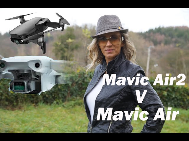 DJI Mavic Air2 v Mavic Air video quality!!