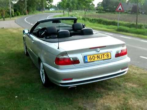 bmw e46 320 ci cabrio verkocht attwente youtube. Black Bedroom Furniture Sets. Home Design Ideas