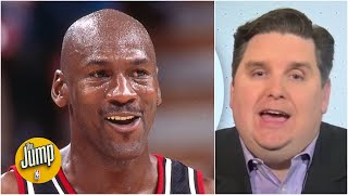 I don't remember Jordan's Bulls ever being in danger in the NBA Finals - Brian Windhorst | The Jump