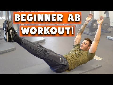 Beginner Ab Workout for Men and Women   5 Easy Six Pack Abs Exercises