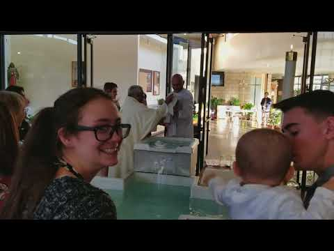 Serge and Calebs Baptism