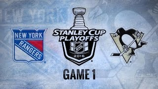 Hornqvist nets hat trick as Penguins take Game 1