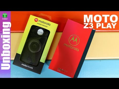 Moto Z3 Play + Nuevo Moto Mod   Unboxing + Opinion   Tecnocat