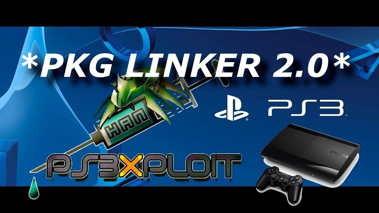 DESBLOQUEIO PS3: PKG LINKER 2 0 DOWNLOAD PS3XPLOIT PKG MAIOR QUE 4 GIGAS