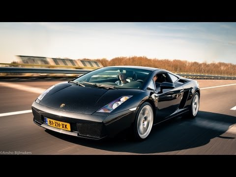 Lamborghini Gallardo Review - HartvoorautosNL - English Subtitled
