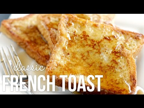 Thumbnail: How to Make French Toast!! Classic Quick and Easy Recipe