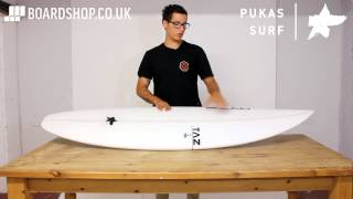Pukas Underdog Surfboard Review by Taz Yassin