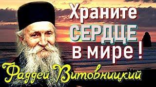Очень МУДРЫЕ ПОУЧЕНИЯ. Витовницкий стослов старец Фаддей Витовницкий