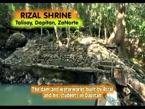 JOSE RIZAL SHRINE IN DAPITAN CITY (tonyboy.video)
