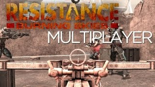 Resistance Burning Skies Multiplayer Gameplay and Hands-On! First Look at Vita FPS Multiplayer!