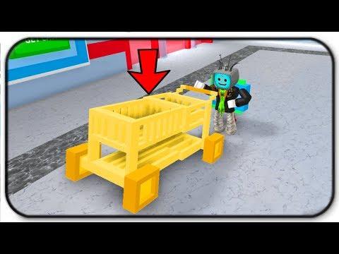 Gold Cart Shopping Spree - Roblox Shopping Simulator
