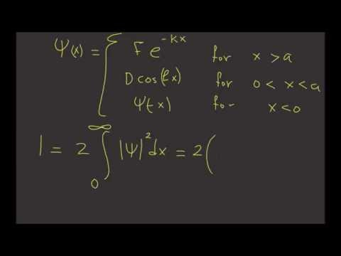 25. Normalizing The Finite Square Well | Learn Quantum Physics