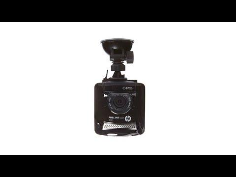 HP F310 1080p Full HD Vehicle Dash Cam With 8GB Card