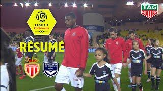 AS Monaco - Girondins de Bordeaux ( 1-1 ) - Résumé - (ASM - GdB) / 2018-19