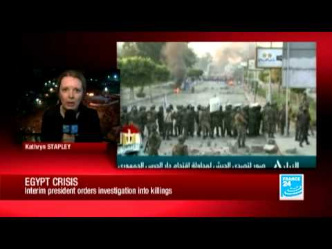 Egypt unrest: FRANCE 24's Kathryn Stapley reports from Cairo