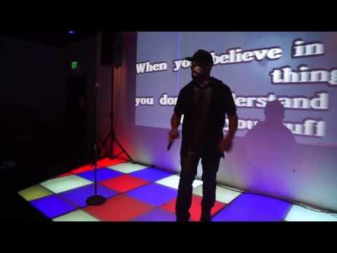 "Kimball Hooker performs ""Superstition"" LIVE @ Karaoke"