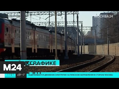 На Рижском направлении МЖД задерживаются поезда в сторону Москвы - Москва 24