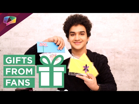 Faisal Khan receives birthday gifts from his fans Part-1
