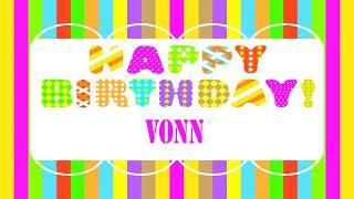 Vonn   Wishes & Mensajes - Happy Birthday
