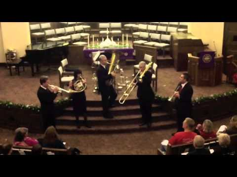 Tower Brass Quintet - Joy To The World