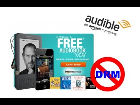 How to Remove DRM from Audiobooks