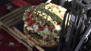 Worlds Largest Commercially Available Hamburger-HD
