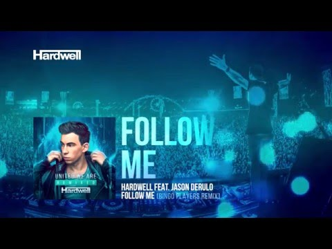 Hardwell feat. Jason Derulo - Follow Me (Bingo Players Remix) [Cover Art]