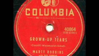 Watch Marty Robbins Grown Up Tears video