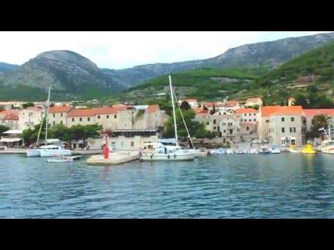 Bol, Island Brac: departure from marina