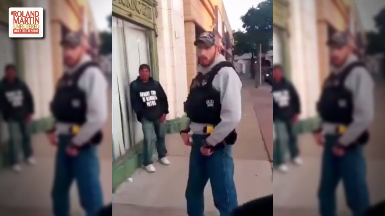 'I Know Law Bro ...': Man Chased Away Cop Who Had Illegally Detained A Young Black Man