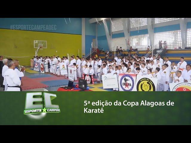 5ª edição da Copa Alagoas de Karatê