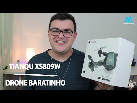 TIANQU XS809W | DRONE BARATINHO CÓPIA DO MAVIC PRO