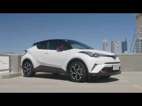 Take the new Toyota C-HR for a Zoom Test Drive