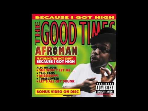 Afroman - Crazy Rap (Colt 45 & 2 Zig Zag) [HD]