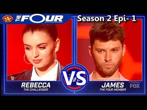 """Rebecca Black vs James Graham """"Torn"""" """"A Song For You"""" & RESULTS The Four Season 2"""