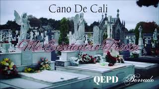 Cano De Cali Me Encuentro Triste (QEPD Borrado)