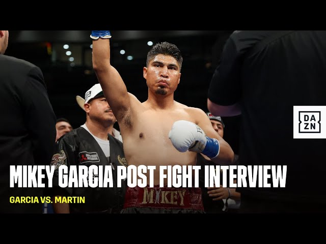 Mikey Garcia 'I Thought I Was Ahead'