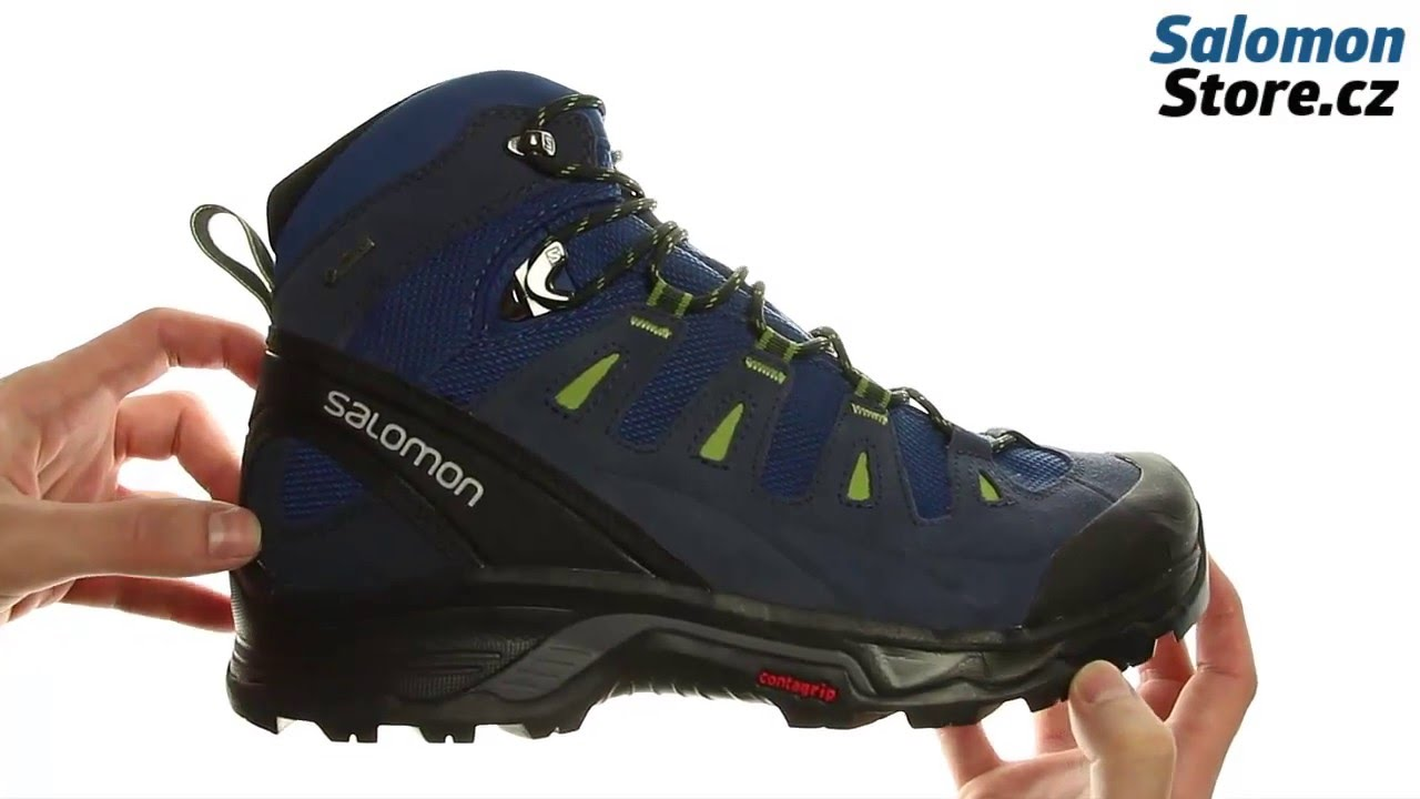 Salomon Quest Prime GTX 381632 - YouTube 4fe5b728b5c